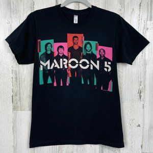 Maroon 5 graphic band tour t shirt 2013 small